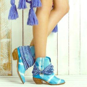 Surdeasia Cowboy Boots